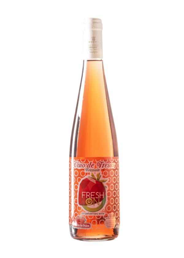 Fresh On zumo de uvas y fresas de Huelva