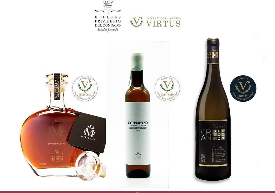Los vinos de Privilegio del Condado conquistan Portugal