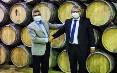 Firmada la fusión de las cooperativas de La Palma y Bollullos del Condado
